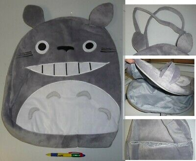 My Neighbor Totoro Fat Face Bean Bag 43x45cm Cosplay New