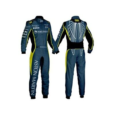 Aston Martin Printed go kart race suit,
