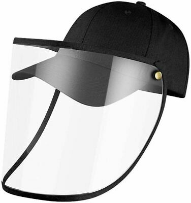 Base Cap Anti Saliva Hat Splash Dust Proof Full Face Shield Protection Cover