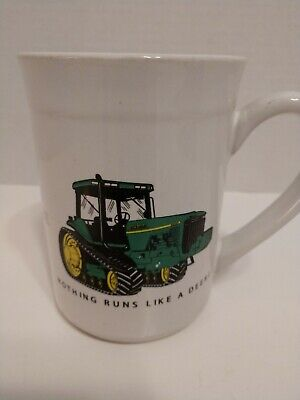 "Vintage John Deere Coffee Mug - ""Nothing Runs Like a Deere""  (Gibson)"