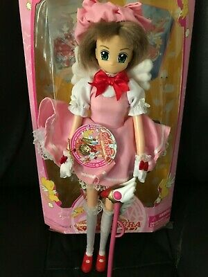 "CARDCAPTOR SAKURA FIGURE Pink Dress outfit Doll 11"" Deboxed - Pre-Owned Used"