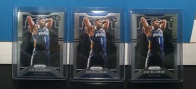 🔥ZION WILLIAMSON 2019-20 PRIZM RC #248 CHASE! RANDOM RePacks (10) cards! DEAL🔥