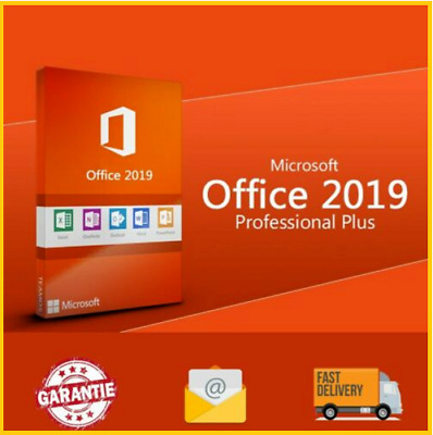 MICROSOFT OFFICE 2019 PROFESSIONAL PLUS 32/64bit License Key🔑 INSTANT DELIVERY