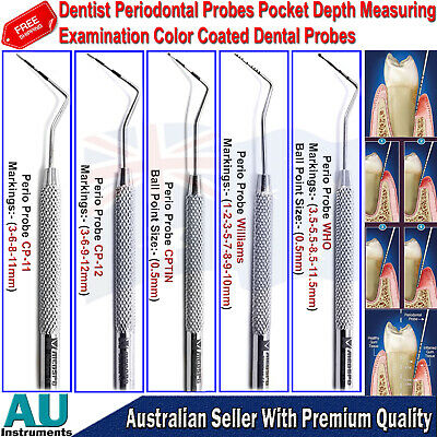 Dentist Perio Probes for Pocket Depth Dental Examination Periodontist Probes CE
