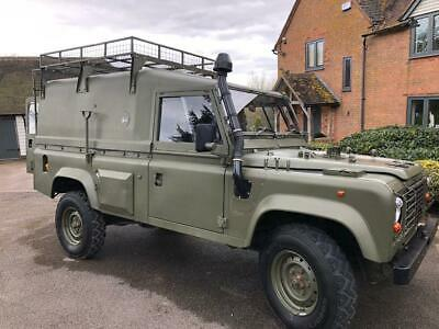 Rare Commanders Land Rover Wolf