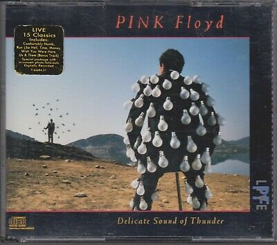 PINK FLOYD Live Delicate Sound of Thunder 1988 2 CD David Gilmour Roger Waters