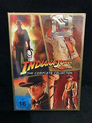 Indiana Jones - The Complete Collection DVD BOX