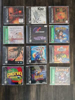 PS1 Games All CIB with manuals and cases, Discs in great shape, some unopened