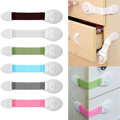 Window Door Stopper Refrigerator Drawer Cabinet Lock Cupboard Baby Safety