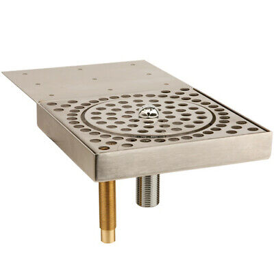 Micromatic GR-UCM Stainless Steel Glass Rinser Undercounter Beer Drip Tray