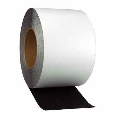 Jessup Safety Track Resilient Non-Slip Safety Tape, Black, 4 in. X 60 ft. Roll