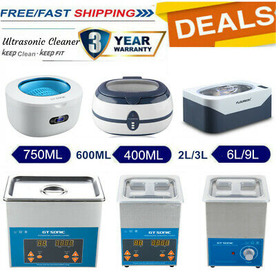 2L 3L 6L 600ML Digital Ultrasonic Cleaner Stainless Ultra Sonic Cleaning Tank UK