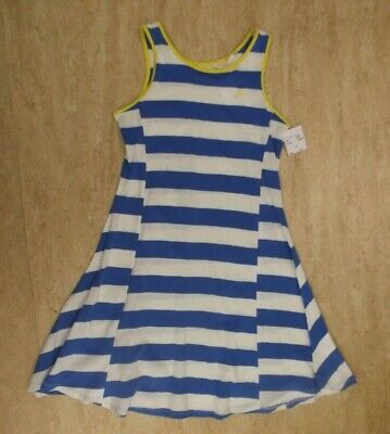 Girls' French Connection Breton Sleeveless Summer Skater Dress Age 8-9 BNWT