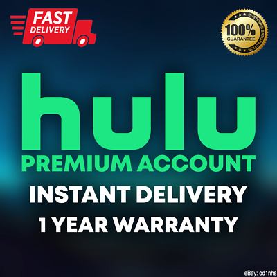 Hulu Premium Account + No Ads🔥 | INSTANT DELIVERY🚚 | 1 YEAR WARRANTY✔️