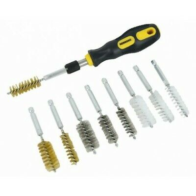 10 Piece Wire Brush Set With Handle