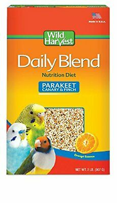 Pet Fruit Seed Food For Parakeet, Canary, Finch & Small Birds 2Lb/ Fast Delivery