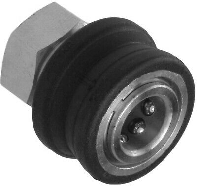 """Mini Quick Release Socket Female Coupling High Pressure Stainless Steel 1/4"""" BSP"""