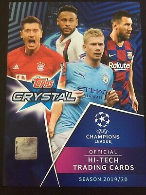Topps Crystal Uefa Champions League Hi-Tech  2019 2020 UCL Master - UCL Icon-LE