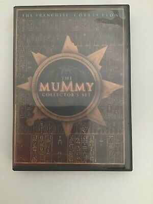 The Mummy Collectors Set (DVD, 2005, 3-Disc Set) Free Shipping