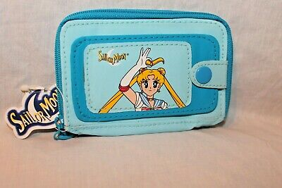 New With Tags 1999 Sailor Moon Blue Coin  Wallet