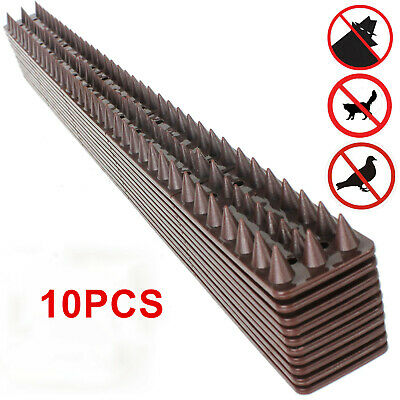 2M Fence Wall Spikes Anti Climb Guard Security Spike Cat Repellent Deterrent