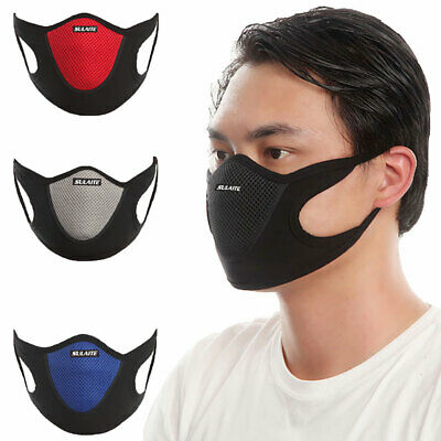 Outdoor Cycling Dustproof Anti Haze Pollen Breathable Face Cover Mouth-muffle