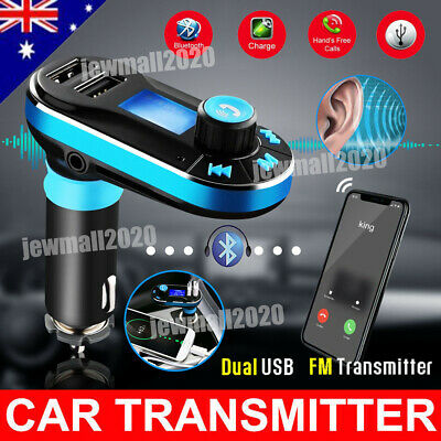 Bluetooth Car MP3 Player LCD Handsfree FM Transmitter Wireless Car Kit USB/SD