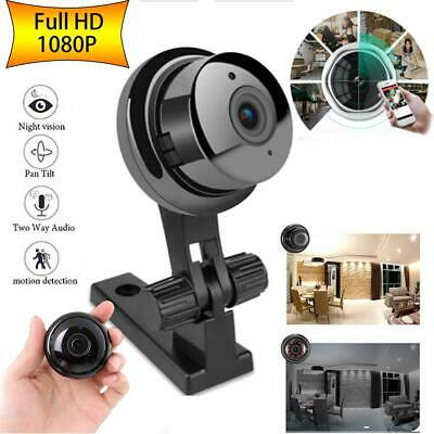 1080P Wireless Mini WIFI IP Camera Smart Home Security Camera Night Vision HD EU
