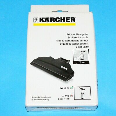 Karcher WV50 Window Vacuum Narrow Suction Nozzle 170mm 26330020