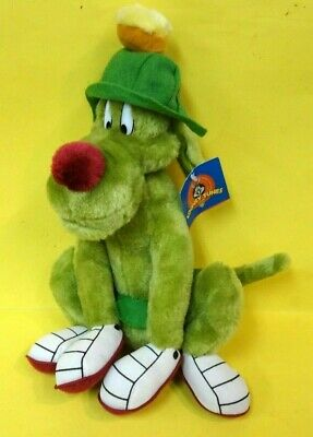 """1997 Play By Play Looney Tunes 13"""" Marvin The Martian K-9 Space Dog w/Tags"""