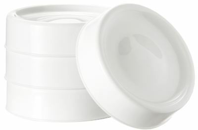 Tommee Tippee Closer To Nature 4x MILK STORAGE LIDS Feeding Hygiene Nursery BN