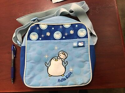 Sanrio Hello Kitty Messenger Bag Blue