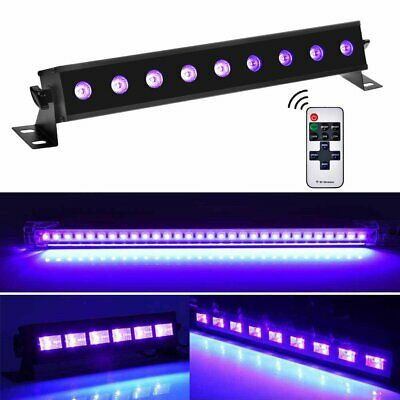 LED UV Black Light 9W 18W 27W USB Bar Stage Disco Club Party Lighting Violet 🔥