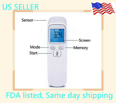 Non-Contact Infrared Thermometer Gun Digital Forehead FDA CE listed
