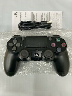 2020 PS4 Dual Shock 4 PlayStation 4 Controller Black Sony Mint