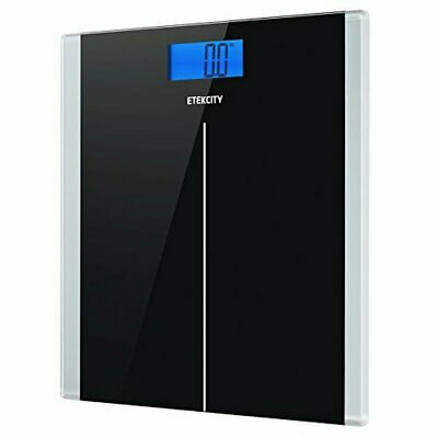 Etekcity Digital Body Weight Bathroom Scale with Step-On Technology, 400 Pounds