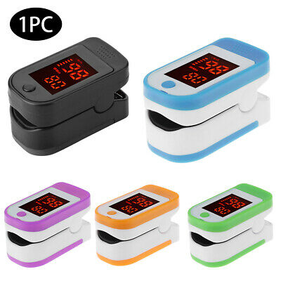LED Oximeter Finger Pulse Oximeter Fingertip Blood Oxygen Saturation Monitor