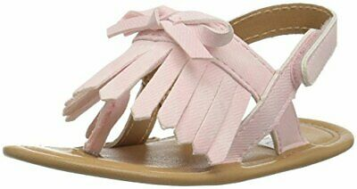 Baby Deer Girls' 01-4348 Sandal Pink 1 Child US Infant