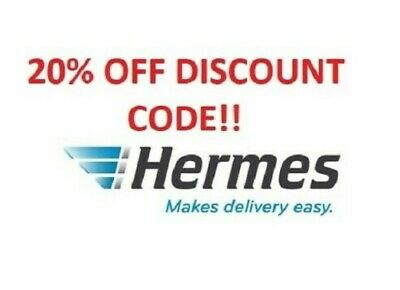 20% OFF Discount Code - MyHermes Hermes ***IMMEDIATE DELIVERY***