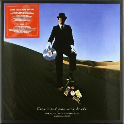 Cd Pink Floyd Wish You Were Here Immersion Box Set 5 Cd