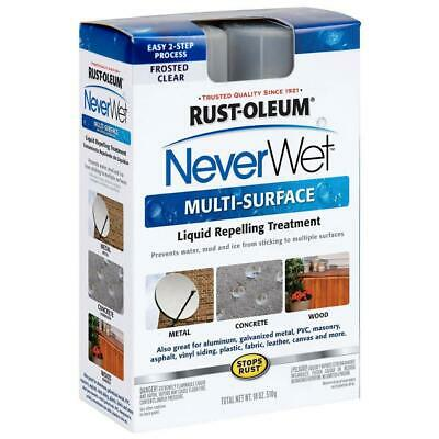 Rust-Oleum 275660 Never Wet Multi Purpose Kit, Frosted Clear