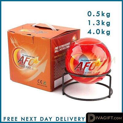 Fire Extinguisher Ball Throw Stop Fire Loss Tool Safety Home Kitchen Car 0.5-4KG