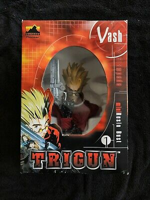 New in box Vash the stampede resin mini-bust (RED) version.