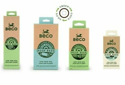 Beco Eco Dog Poo Bags Biodegradable Dog Waste Bags - Variety-Choose Your Item