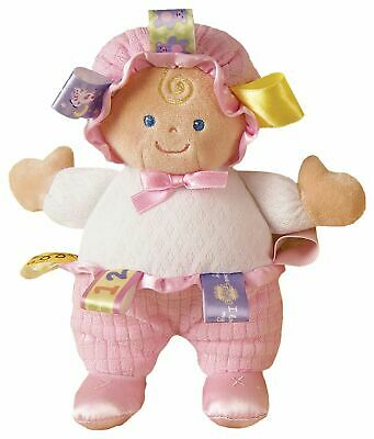 Taggies BABY DOLL Baby Comforter Soft Toys Activities BN