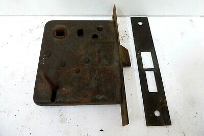 Antique Morticed Door  Lock  And Keep
