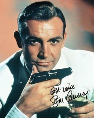 REPRINT - SEAN CONNERY James Bond Autographed Signed 8 x 10 Photo Poster RP