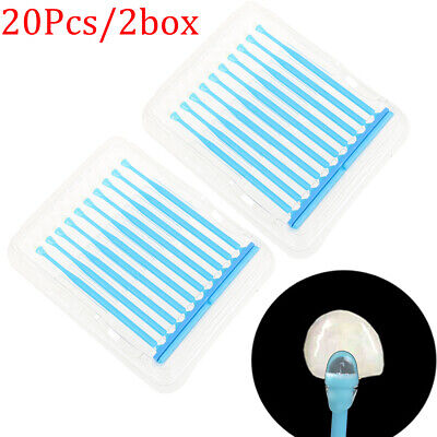 20* Dental Disposable Adhesive Tip Applicator for Tooth Crown Porcelain Venee RC