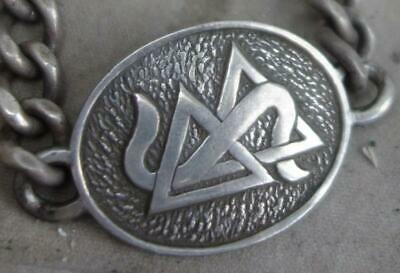 altes Silber Armband Scientology Clear