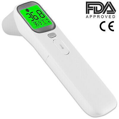 Medical Non-Contact Thermometer, FDA/CE approved No touch Baby Thermometer